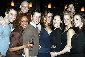 Wicked cast farewells 2006 - group shot