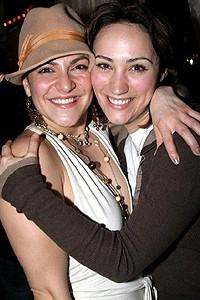 Wicked cast farewells 2006 - Shoshana Bean - Eden Espinosa