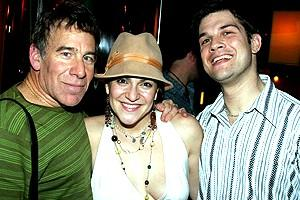 Wicked cast farewells 2006 - Stephen Schwartz - Shoshana Bean - Stephen Oremus