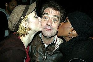 Huey Lewis and Charlotte d'Amboise Depart Chicago - Charlotte d'Amboise - Huey Lewis - Brenda Braxton