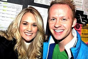 Carrie Underwood at Wicked - Carrie Underwood - Marty Thomas