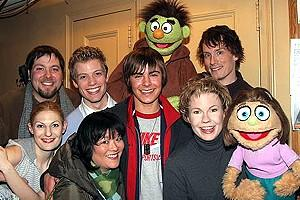 Zac Efron at Avenue Q - Zac Efron - full cast