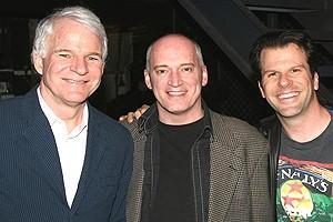 Steve Martin at Jersey Boys - Steve Martin - Donnie Kehr- Steve Gouveia