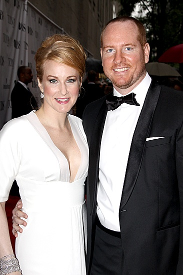 2010 Tony Awards Red Carpet – Katie Finneran – Darren Goldstein