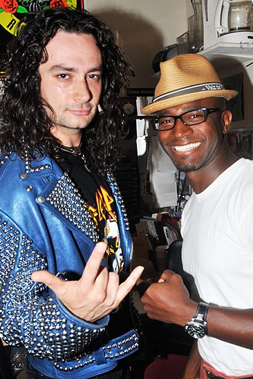 Taye Diggs at Rock of Ages  Constantine Maroulis  Taye Diggs