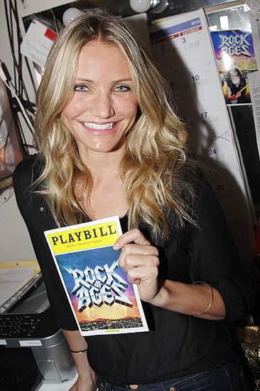 Cameron Diaz and A-Rod at Rock of Ages  Cameron Diaz
