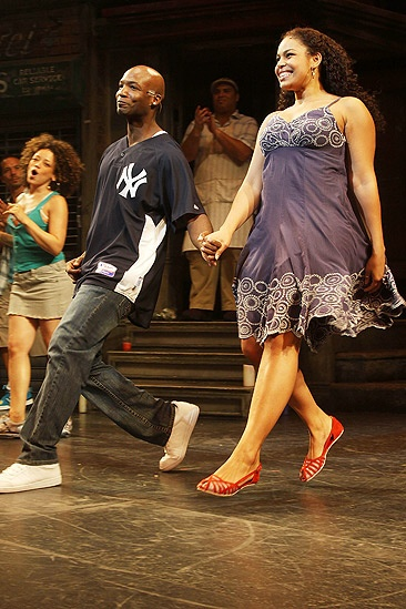 Jordin Sparks In the Heights – Jordin Sparks skips