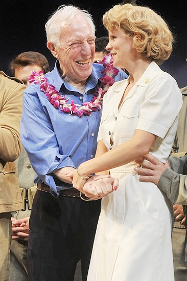 South Pacific closing  Keli OHara - Bernard Gersten 