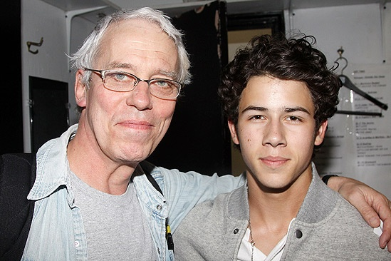 Jonas Addams  Terrence Mann  Nick Jonas