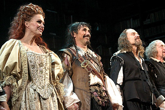 La Bete opening – Joanna Lumley – Mark Rylance – David Hyde Pierce - 2