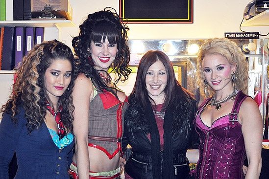 Tiffany at Rock of Ages – Julie Nelson – Sarrah Strimel - Tiffany – Emily Padgett