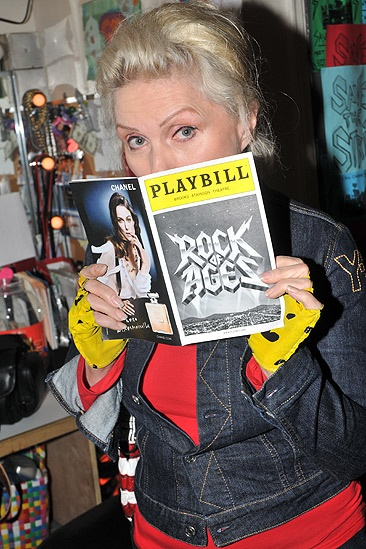 Debbie Harry at Rock of Ages – Debbie Harry