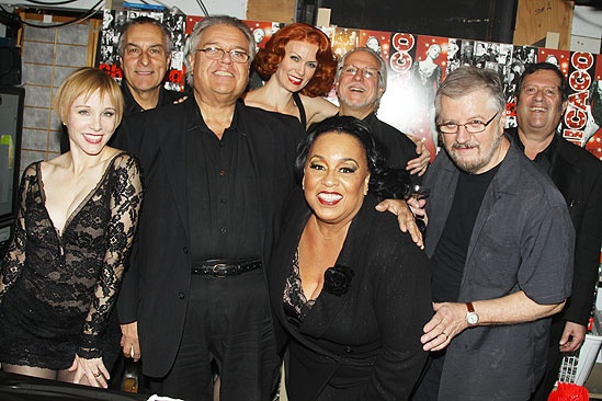 Chicago 14 - Charlotte d'Amboise, Rick Centalonza, Dave Bargeron, Leigh Zimmerman, Bruce Bonvissuto (next to Leigh), Roz Ryan, Ron Zito, Jay Berliner