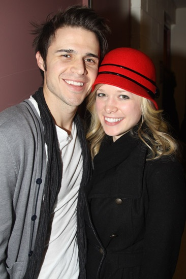 Kris Allen with hot, beautiful, sexy, cute, Wife Katy O