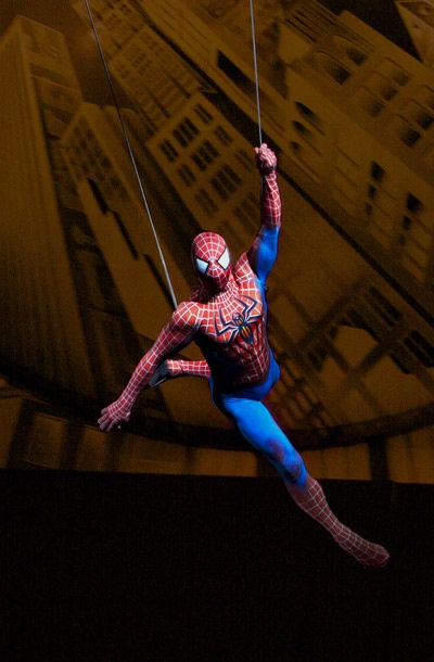 Show Photos - Spider-Man: Turn Off the Dark - Reeve Carney