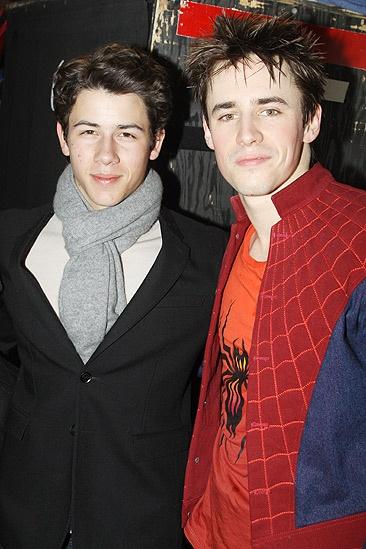Nick Jonas Spidey - Nick Jonas - Reeve Carney
