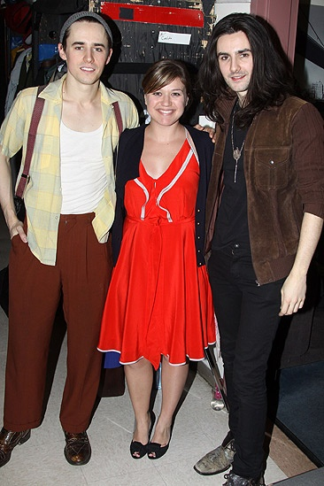 Spidey Kelly Clarkson – Reeve Carney – Kelly Clarkson – Zane Carney