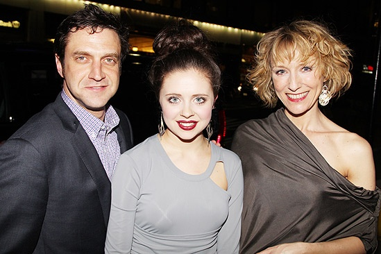 Arcadia opens - Raul Esparza - Bel Powley - Lia Williams 