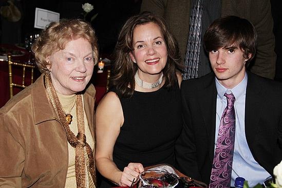 Arcadia opens - Margaret Colin -  mom- son