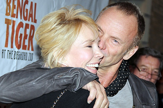 Bengal Tiger opens – Trudie Styler – Sting 2