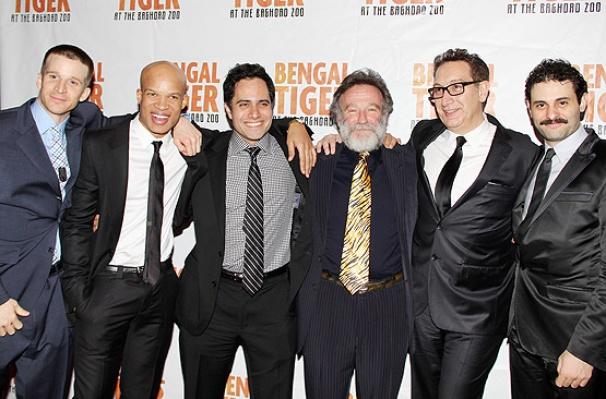 Bengal Tiger opens – Brad Fleischer – Glenn Davis – Rajiv Joseph – Robin Williams – Moises Kauffman – Arian Moayed
