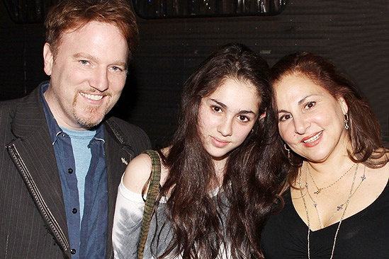Nathan Priscilla - Dan Finnerty - daughter Samia - Kathy Najimy 