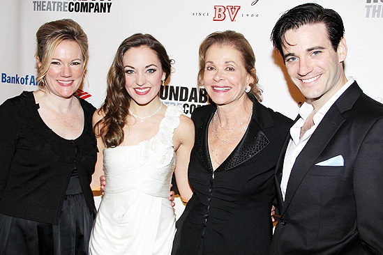 Anything Goes Opening Night  Kathleen Marshall  Laura Osnes  Jessica Walter  Colin Donnell