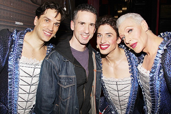 Priscilla at Dan Savage  Will Swenson  Dan Savage  Nick Adams  Tony Sheldon 2