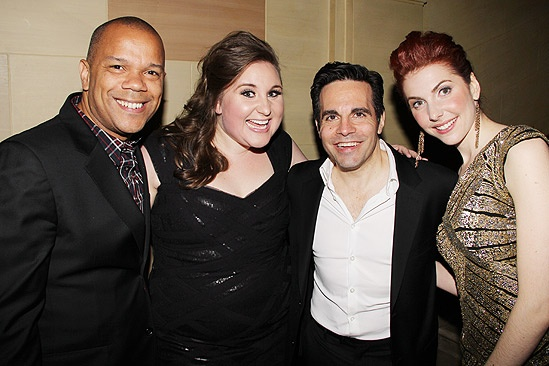 Sister Act Opening Night –  Jerry Dixon – Sarah Bolt – Mario Cantone – Marla Mindelle