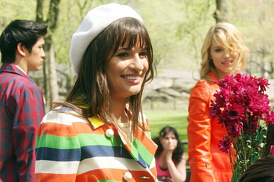 Glee Central Park - Lea Michele