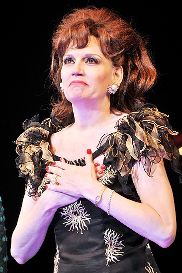 Baby It's You Opening Night – Beth Leavel (curtain call)