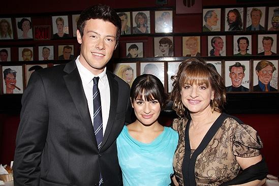 Patti Glee – Cory Monteith – Lea Michele – Patti LuPone