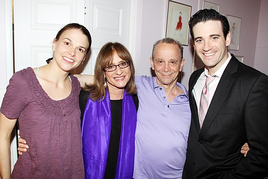 Patti LuPone at Anything Goes  Patti LuPone  Joel Grey  Colin Donnell  Sutton Foster