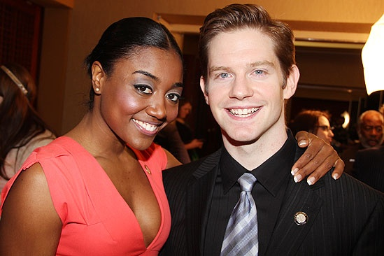 Tony Brunch 2011  Patina Miller  Rory OMalley