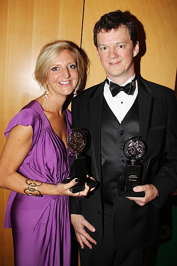 2011 Tony Awards Winners Circle – Marianne Elliott – Tom Morris