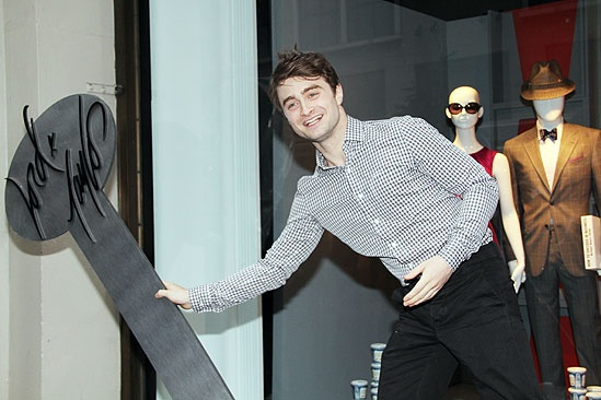 How to Succeed Stars at Lord & Taylor – Daniel Radcliffe