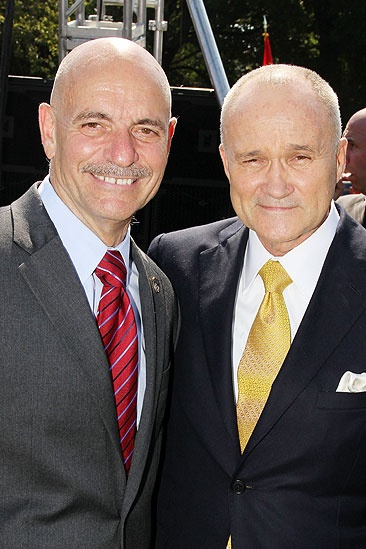 Spider-Man games – NYC Fire Commissioner Salvatore Cassano – NYC Police Commissioner Ray Kelly