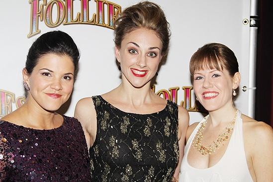 <i>Follies</i> opening night – Sara Edwards – Ashley Yeater – Danielle Jordan