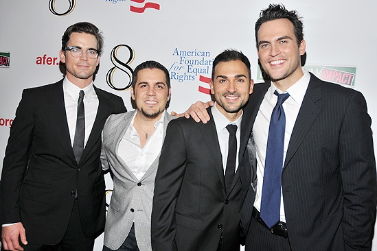 &lt;i&gt;8&lt;/i&gt; reading  Matthew Bomer  Jeff Zarrillo  Paul Katami  Cheyenne Jackson 