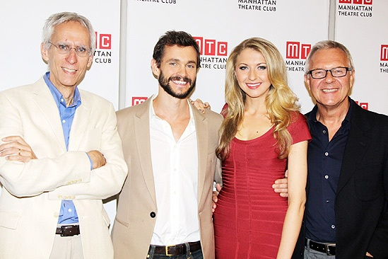 Venus in Fur meet and greet – David Ives – Hugh Dancy – Nina Arianda – Walter Bobbie