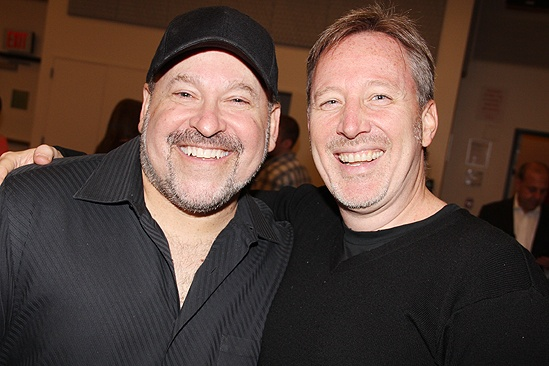 &lt;i&gt;Bonnie &amp; Clyde&lt;/i&gt; meet and greet  Frank Wildhorn  John McDaniel
