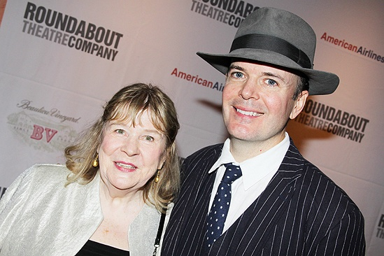 <i>Man and Boy</i> opening – Marylouise Burke – Jefferson Mays