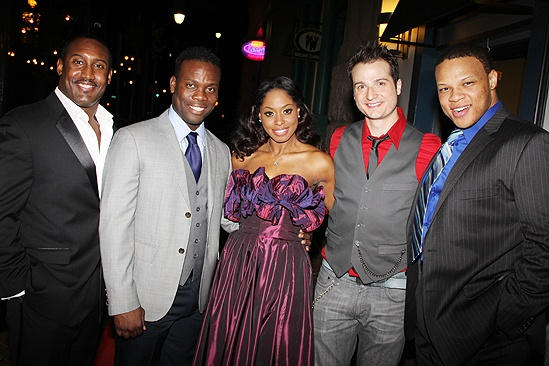 Memphis national tour launch – Felicia Boswell – Quentin Earl Darrington – Rhett George – Bryan Fenkart – Will Mann