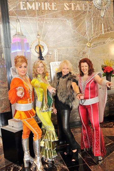 Mamma Mia Empire State Building – Judy McLane – Lisa Brescia – Judy Craymer – Jennifer Perry