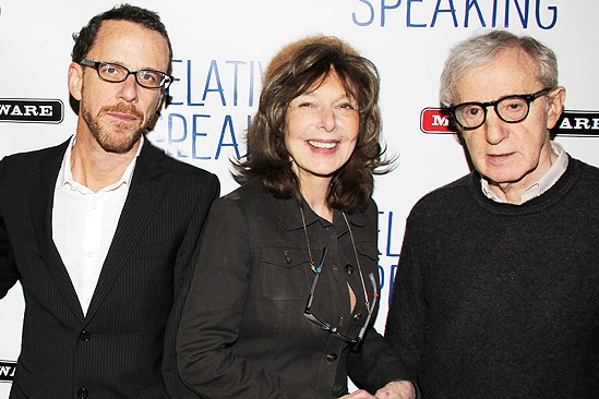 <i>Relatively Speaking</i> Opening Night -  Ethan Coen – Elaine May – Woody Allen