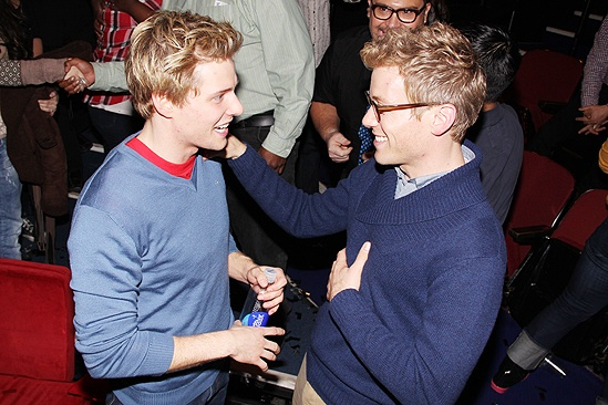 Godspell reunion  Hunter Parrish  Barrett Foa