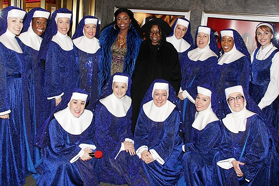 <i>Sister Act</I> at Macy's – Patina Miller – Whoopi Goldberg – the cast of <i>Sister Act</i>