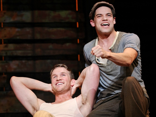 Show Photos - Bonnie & Clyde - Claybourne Elder - Jeremy Jordan
