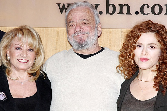 Follies - Elaine Paige, Stephen Sondheim and Bernadette Peters