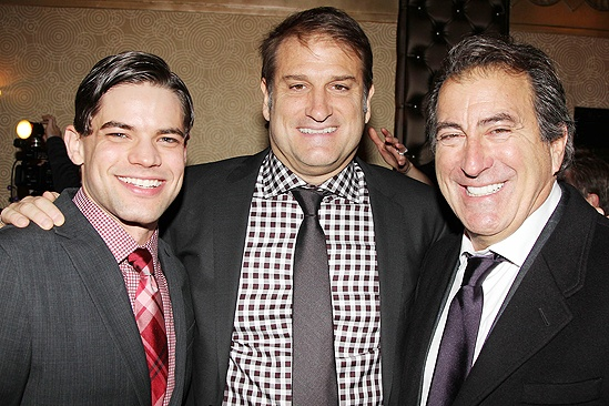 <i>Bonnie & Clyde</i> opening night – Jeremy Jordan – Jeff Calhoun – Kenny Ortega